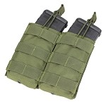 Condor Outdoor Double Open Top M4 Mag Pouch - OD